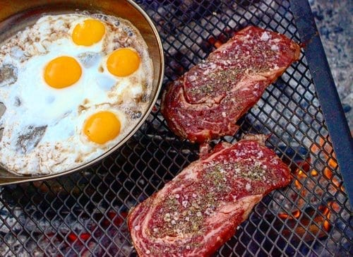 Fire Cooked Breakfast Ideas