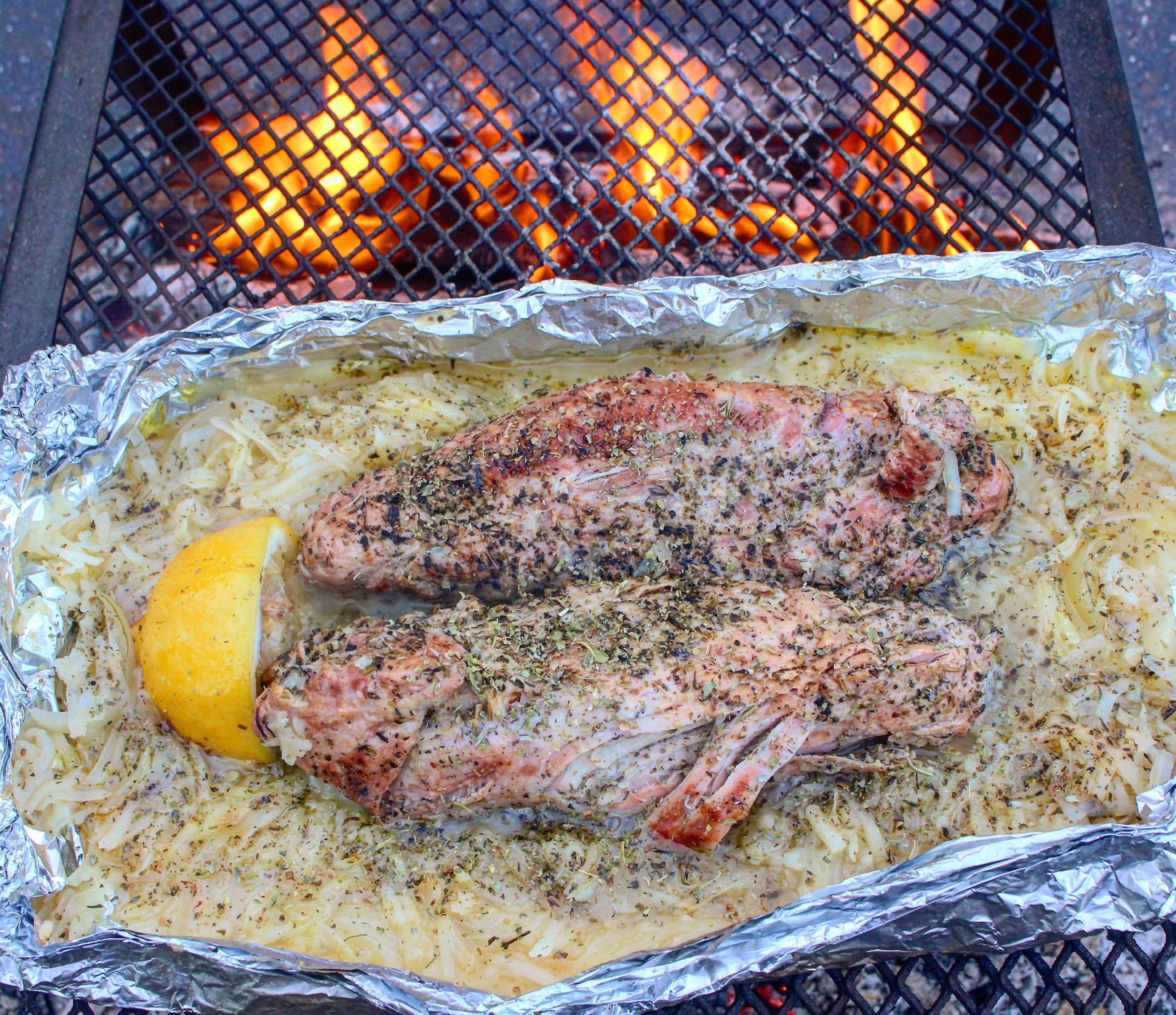 Campfire Pork Loin