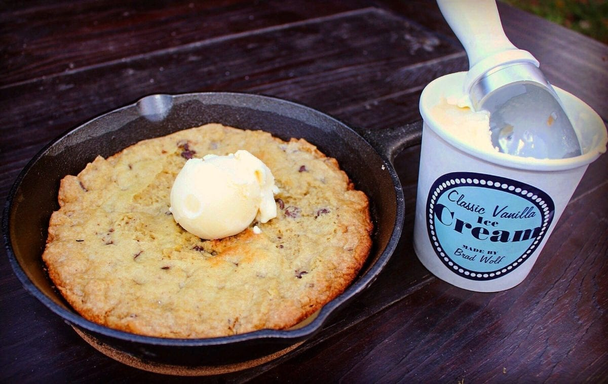 campfire skillet cookie