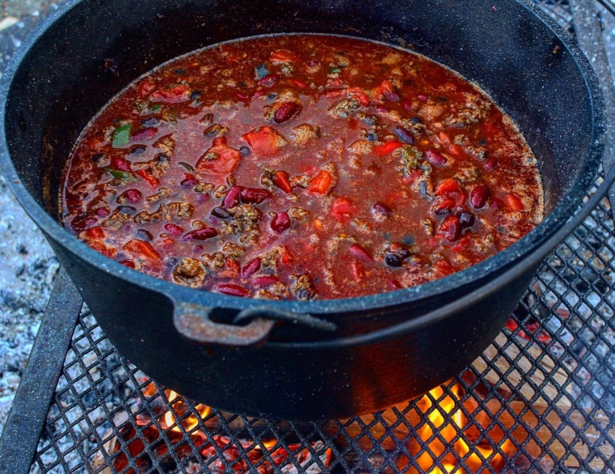fall festive chili