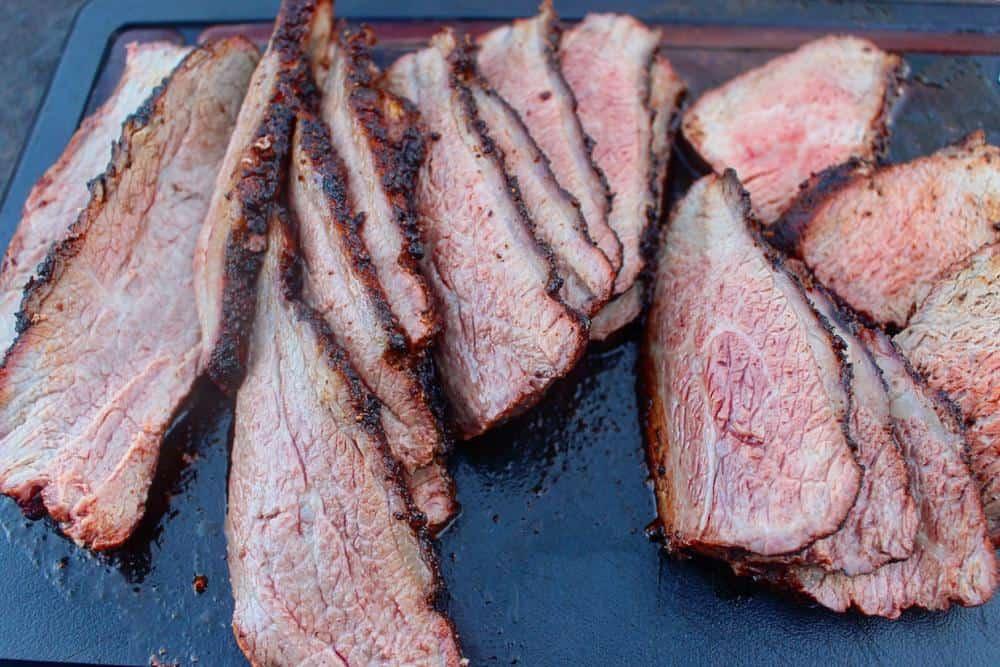 slice smoked tri-tip
