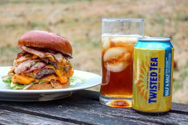 Twisted & Smashed Bacon Cheeseburger