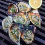 oysters on the coals