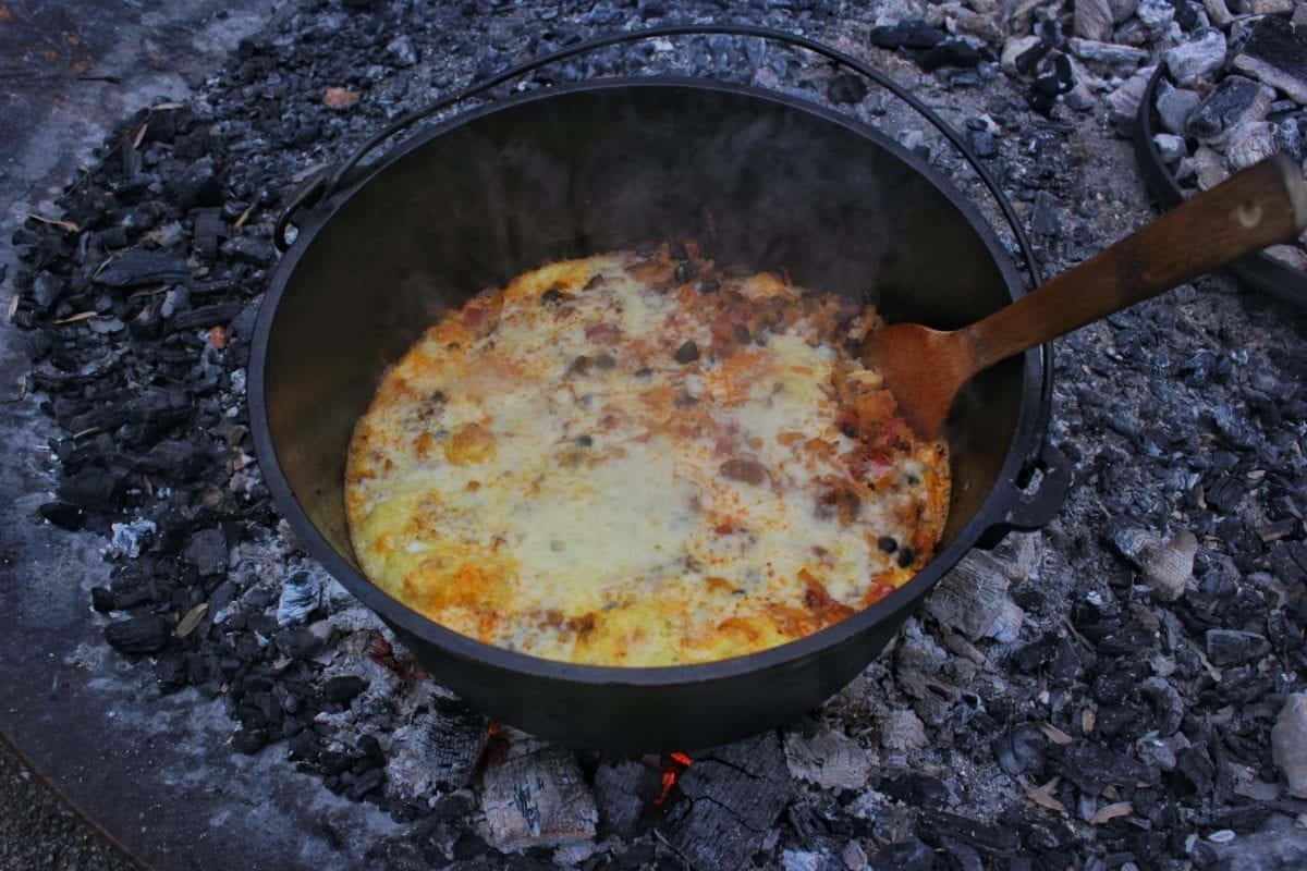 lets eat campfire breakfast
