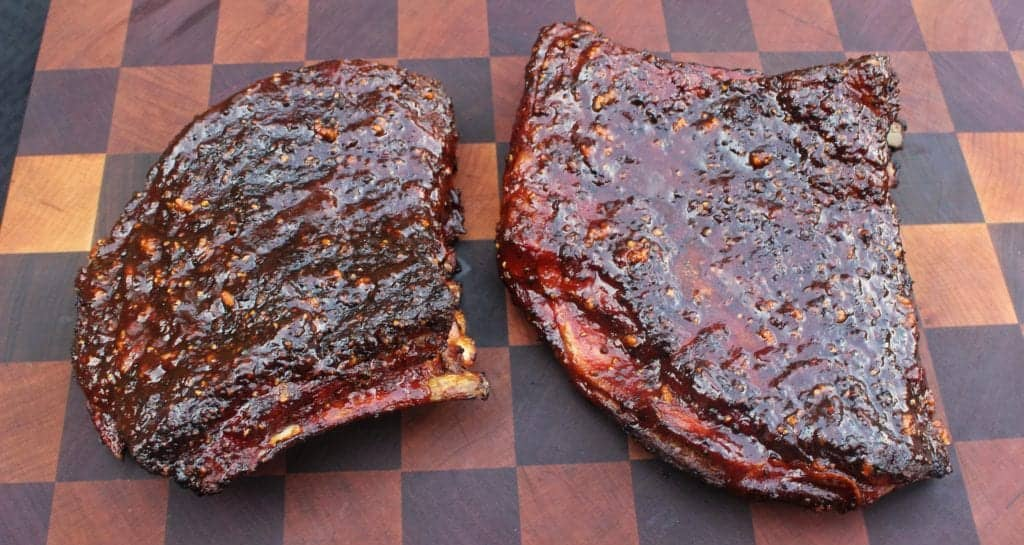 honey chipotle bbq lamb ribs