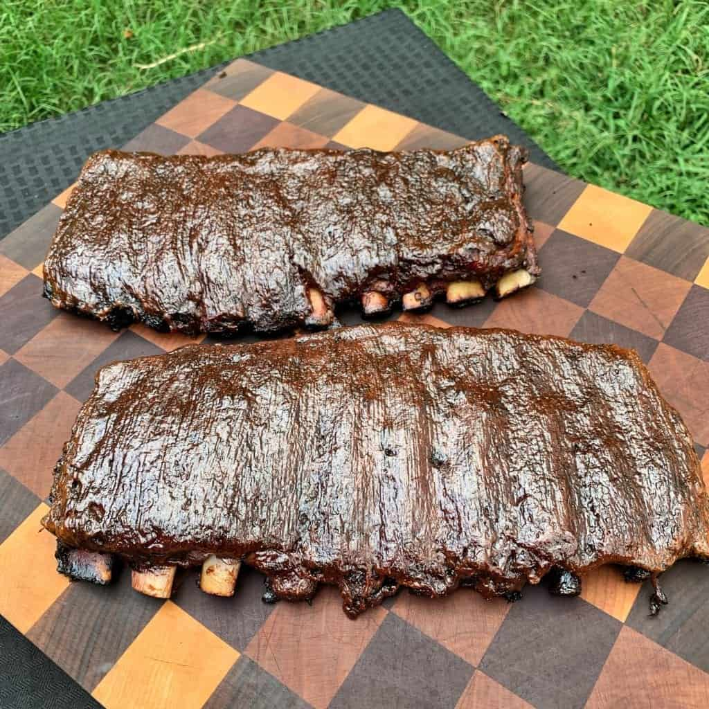 Molasses Espresso St. Louis Style Pork Spareribs