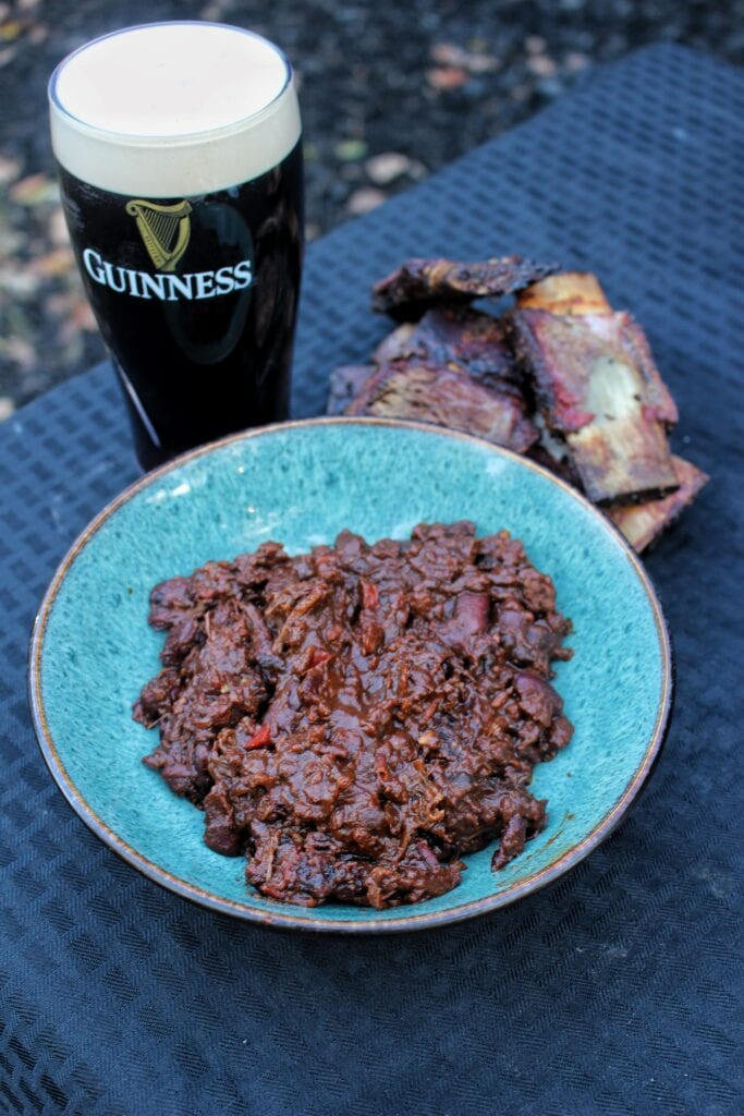 Smoked Beef Short Rib & Guinness Chili