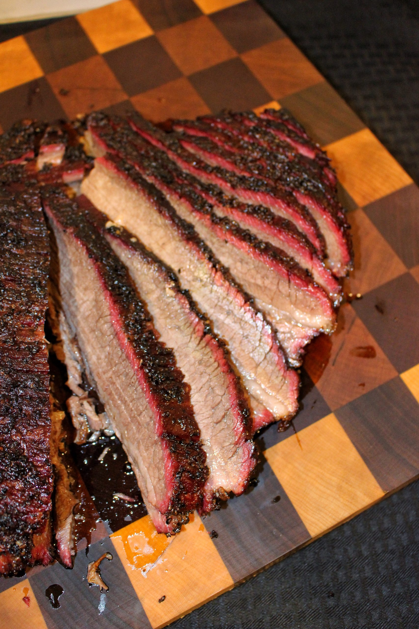 Hot and Fast Smoked Brisket