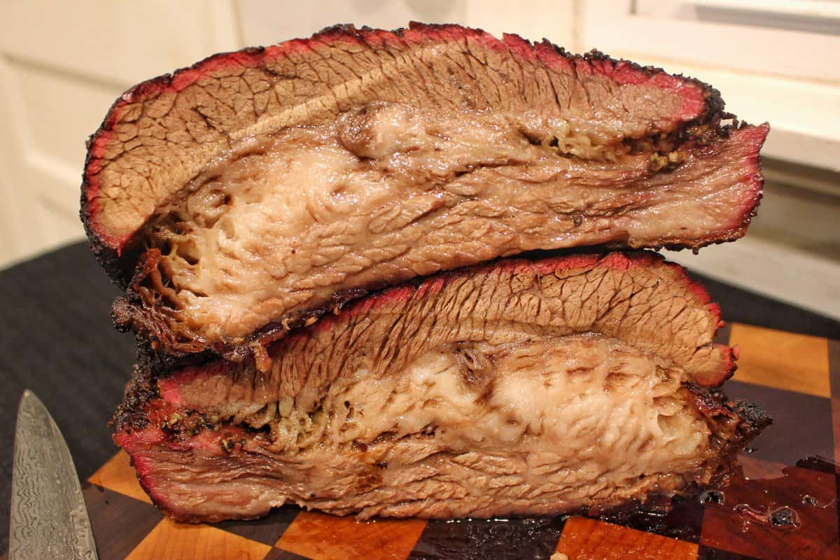 Hot and Fast Smoked Brisket Recipe