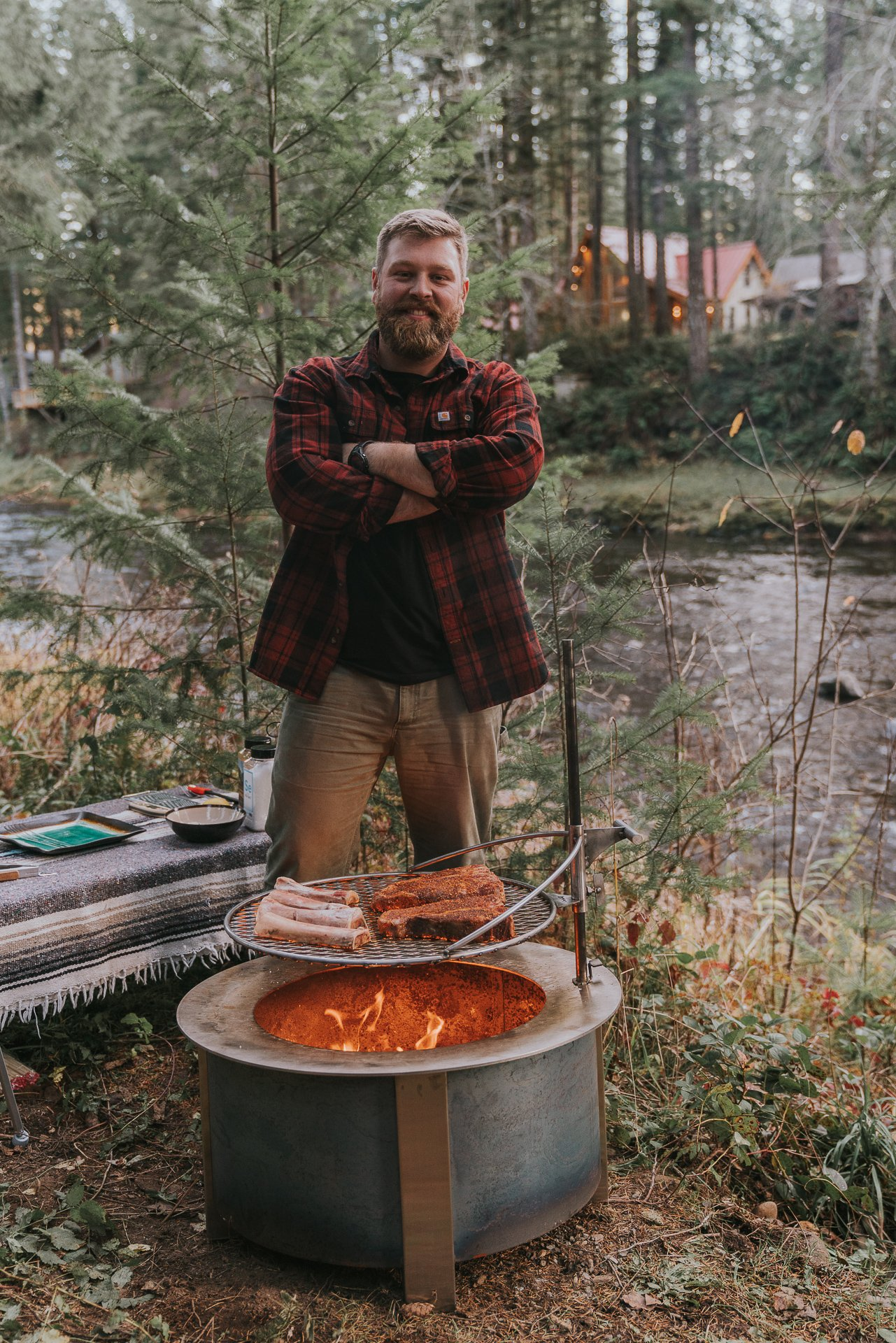 lets cook on a good fire pit
