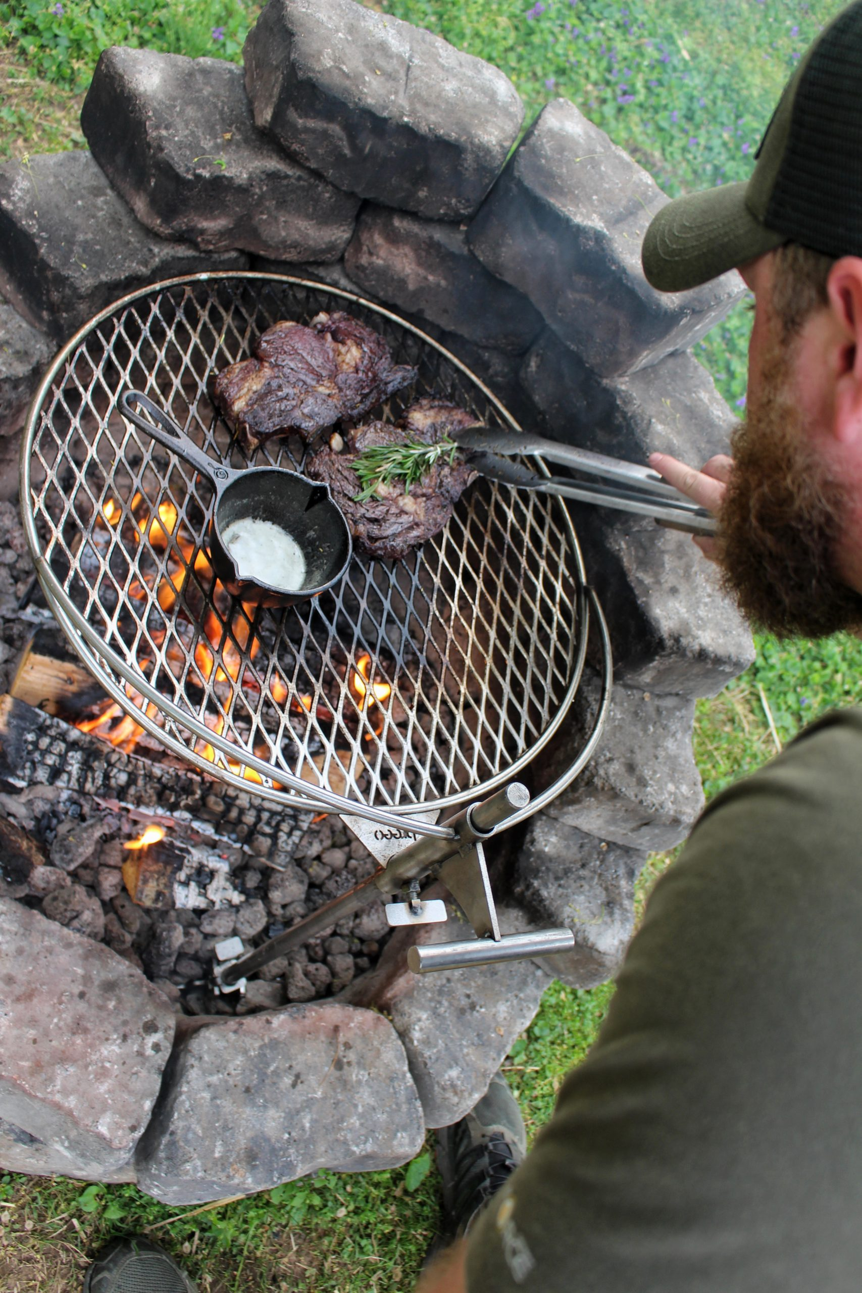 breeo outpost is essential fire cooking gear