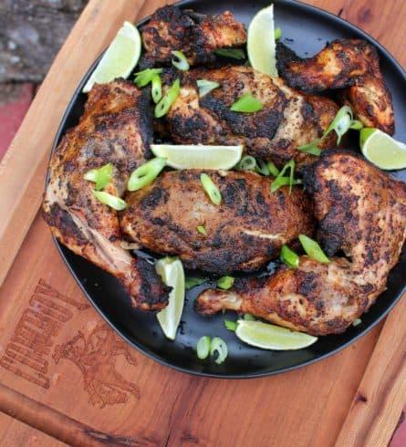 spiced rum chicken