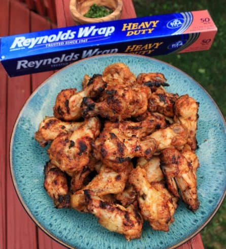 Baked Chile Lime Wings