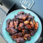Smoked and Fried Sticky Wings