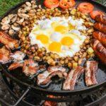 breakfast skillet platter