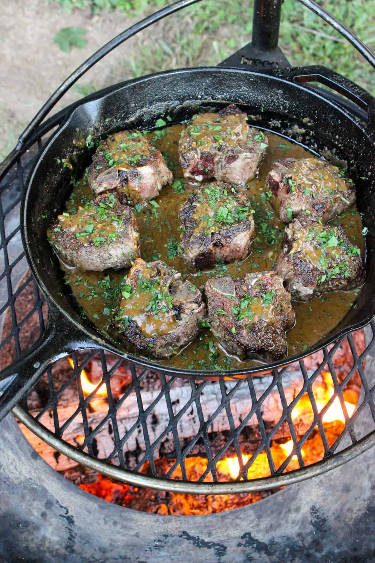 rosemary garlic lamb chops