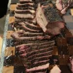 Mesquite Peppercorn Lager Smoked Brisket