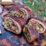 flank steak fajita pinwheel