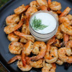 grilled buffalo shrimp with zesty ranch