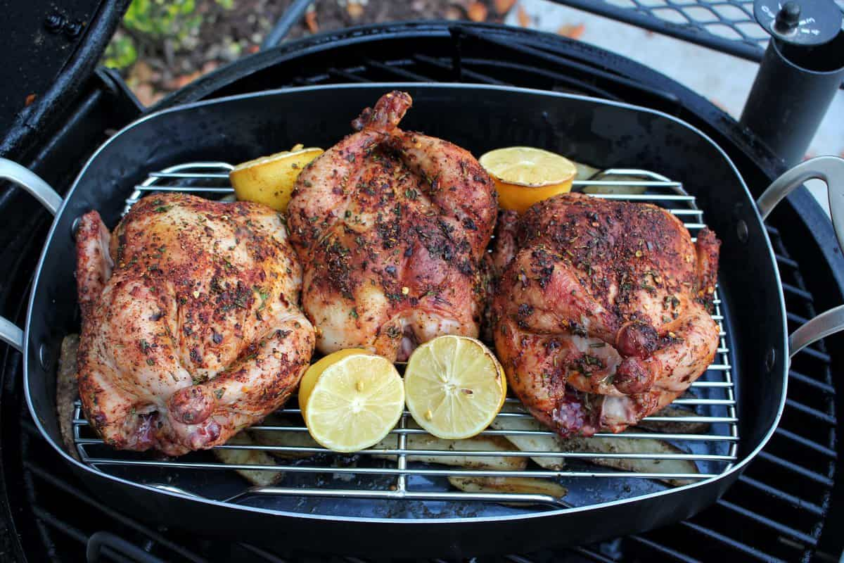 Herb Encrusted cornish hens