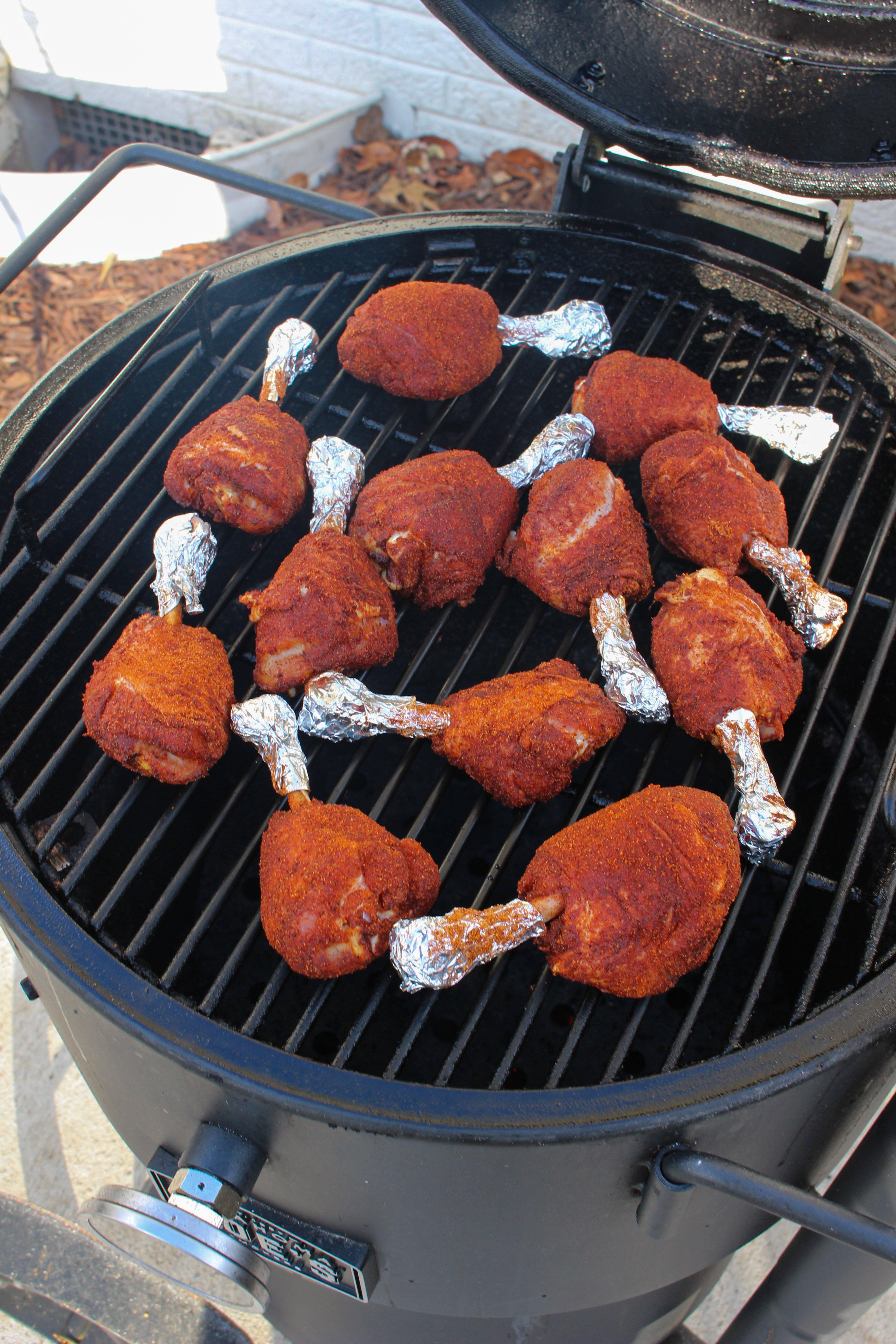 maple hot chicken lollipops
