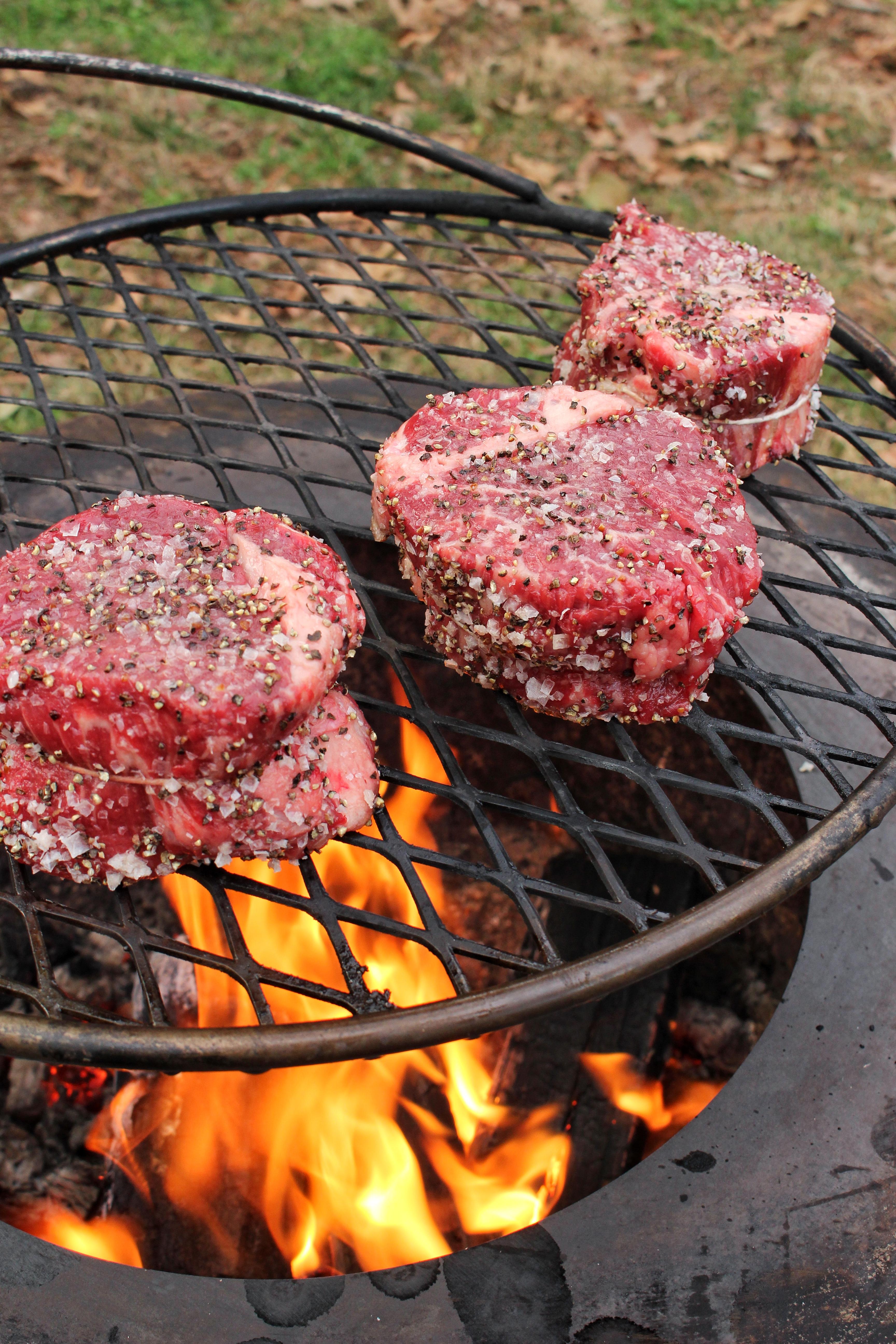 grilled steak oscar