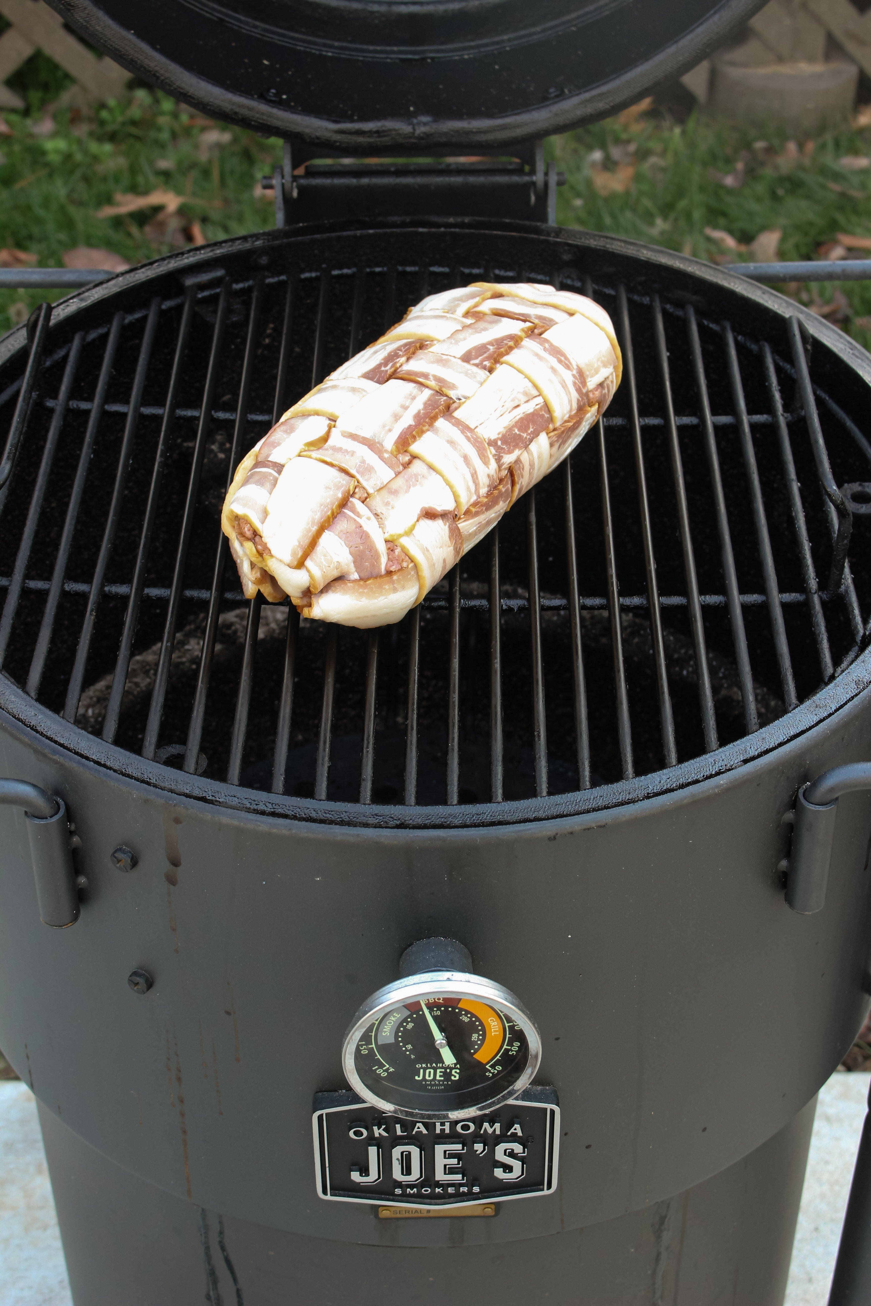 Bacon Wrapped Jalapeño Cheese Fatty