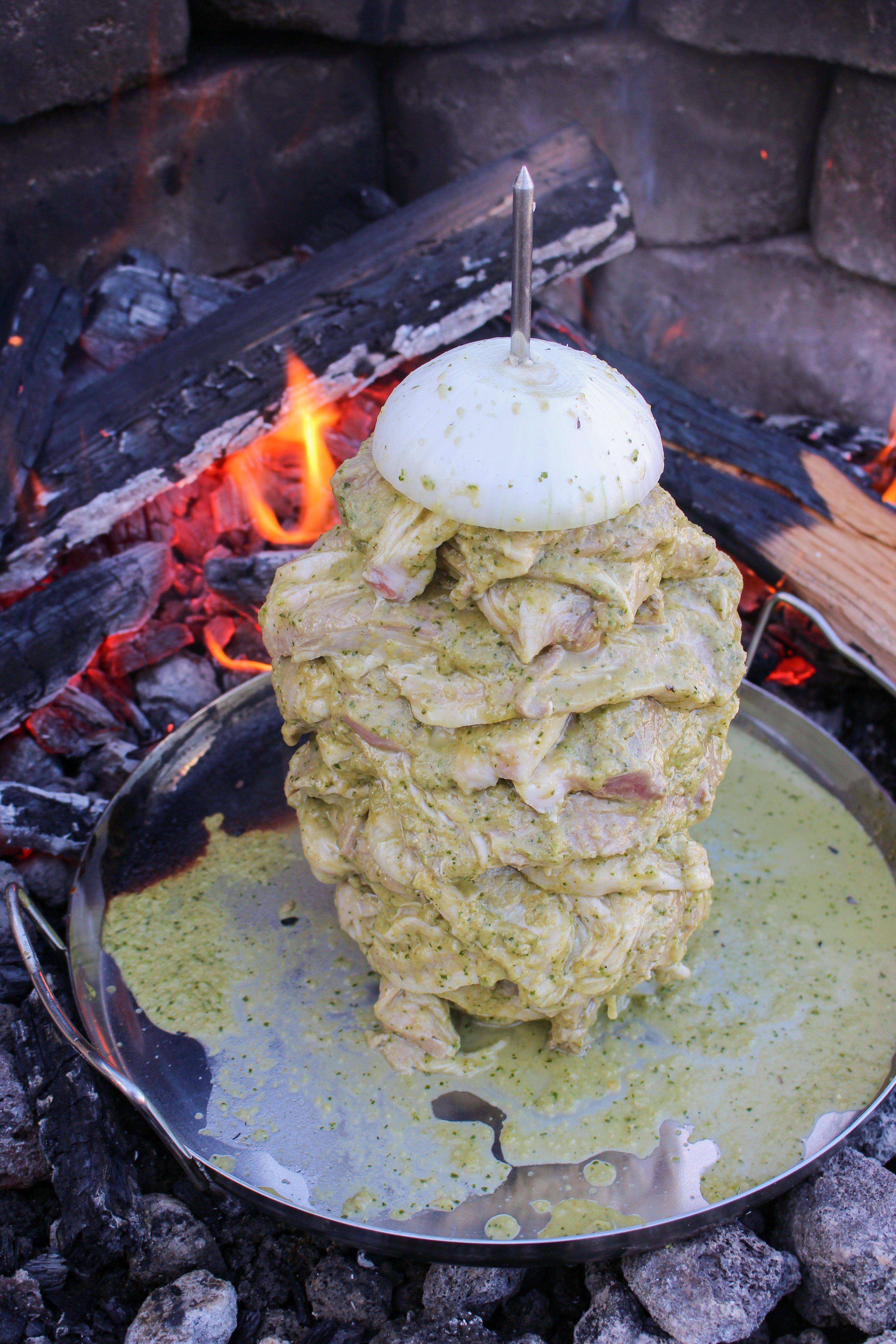 Hatch Chile Mezcal Pork Tacos