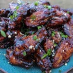 Smoked Peanut Butter and Jelly Wings