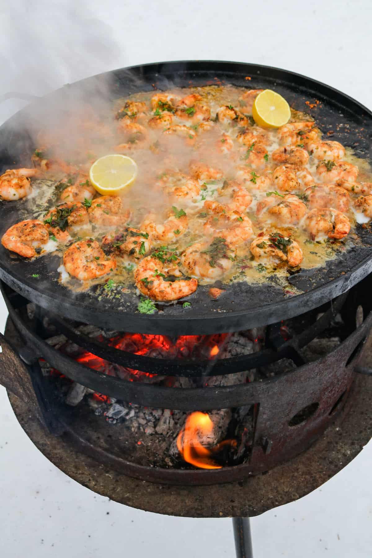 Chipotle Garlic butter Shrimp