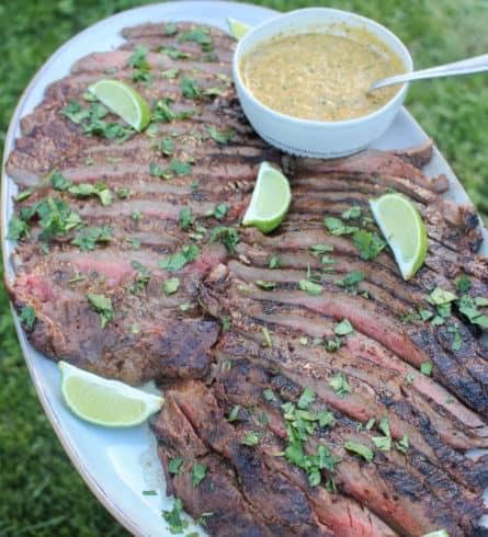 Spiced Habanero Flank Steak