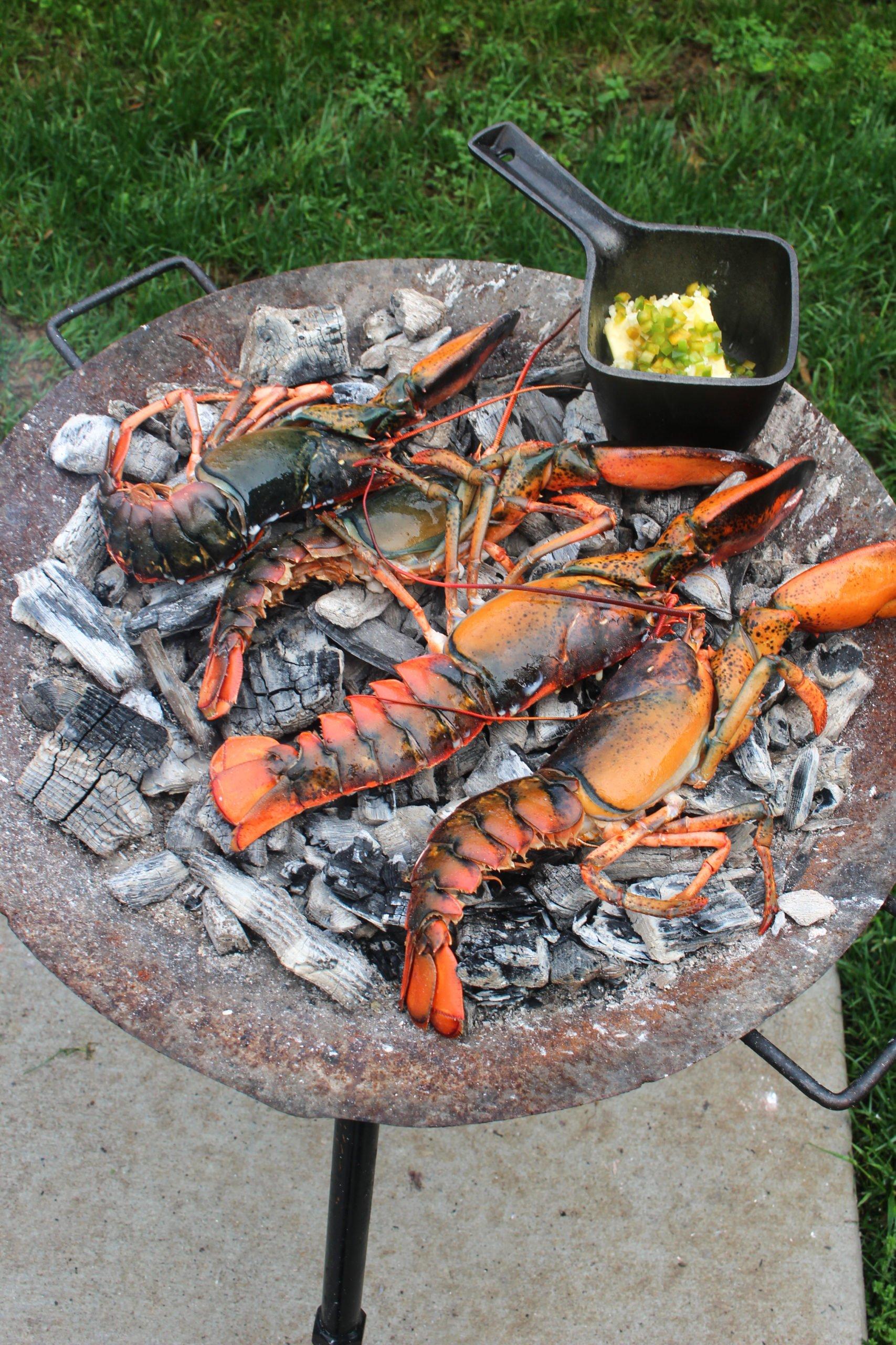 Coal Roasted Baja Lime Lobster
