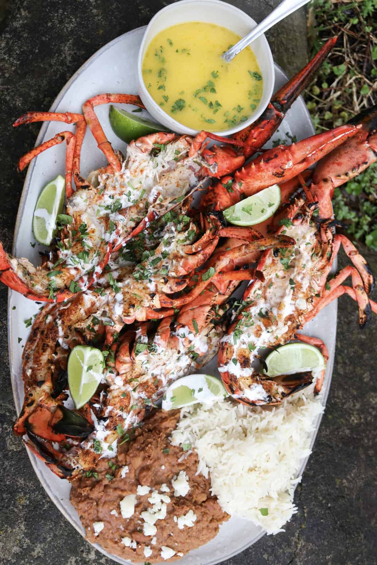 Coal Roasted Baja Lime Lobster