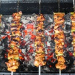 Chicken and Scallion Skewers