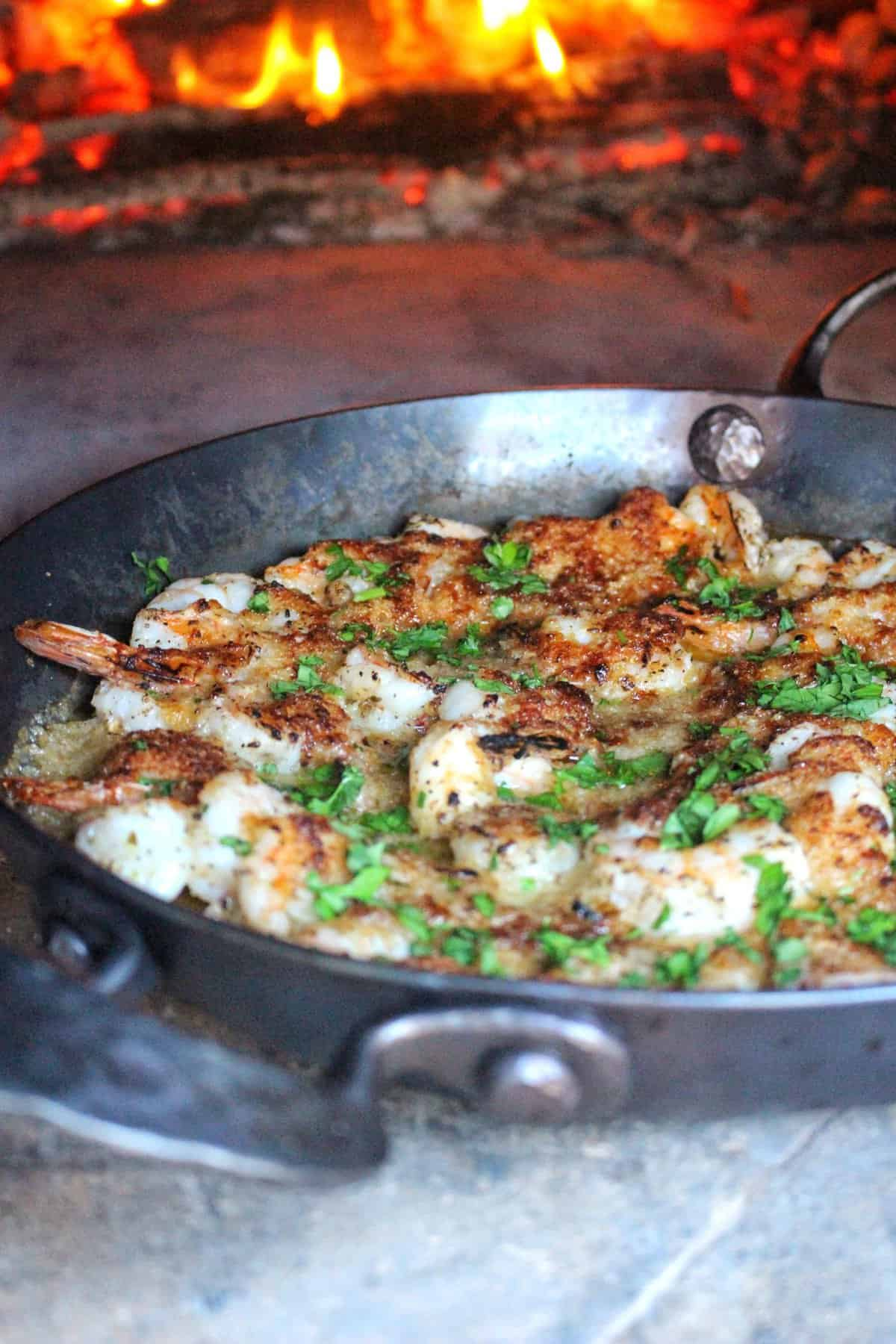 Baked Parmesan Crusted Shrimp