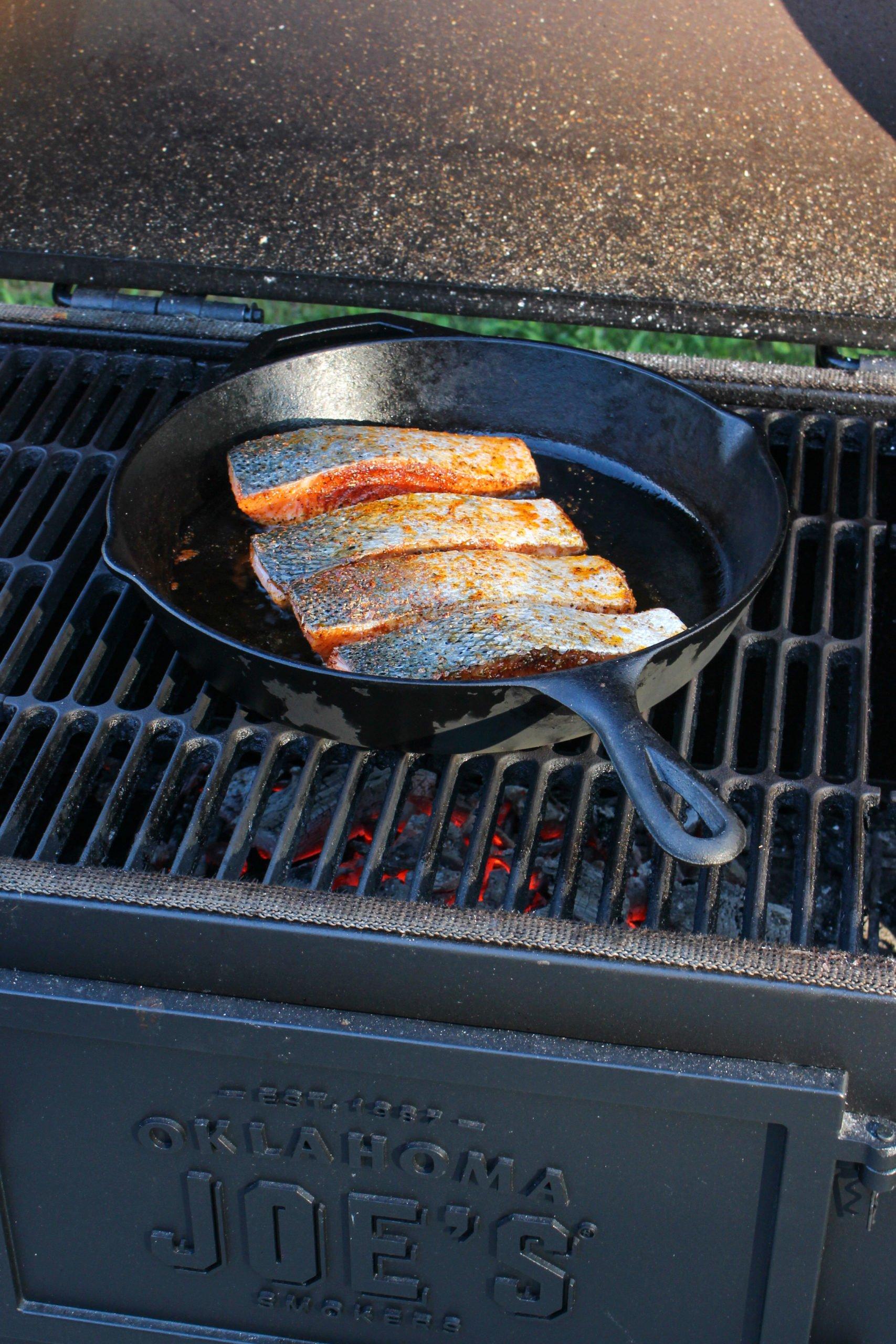 Creamy Honey Cajun Salmon