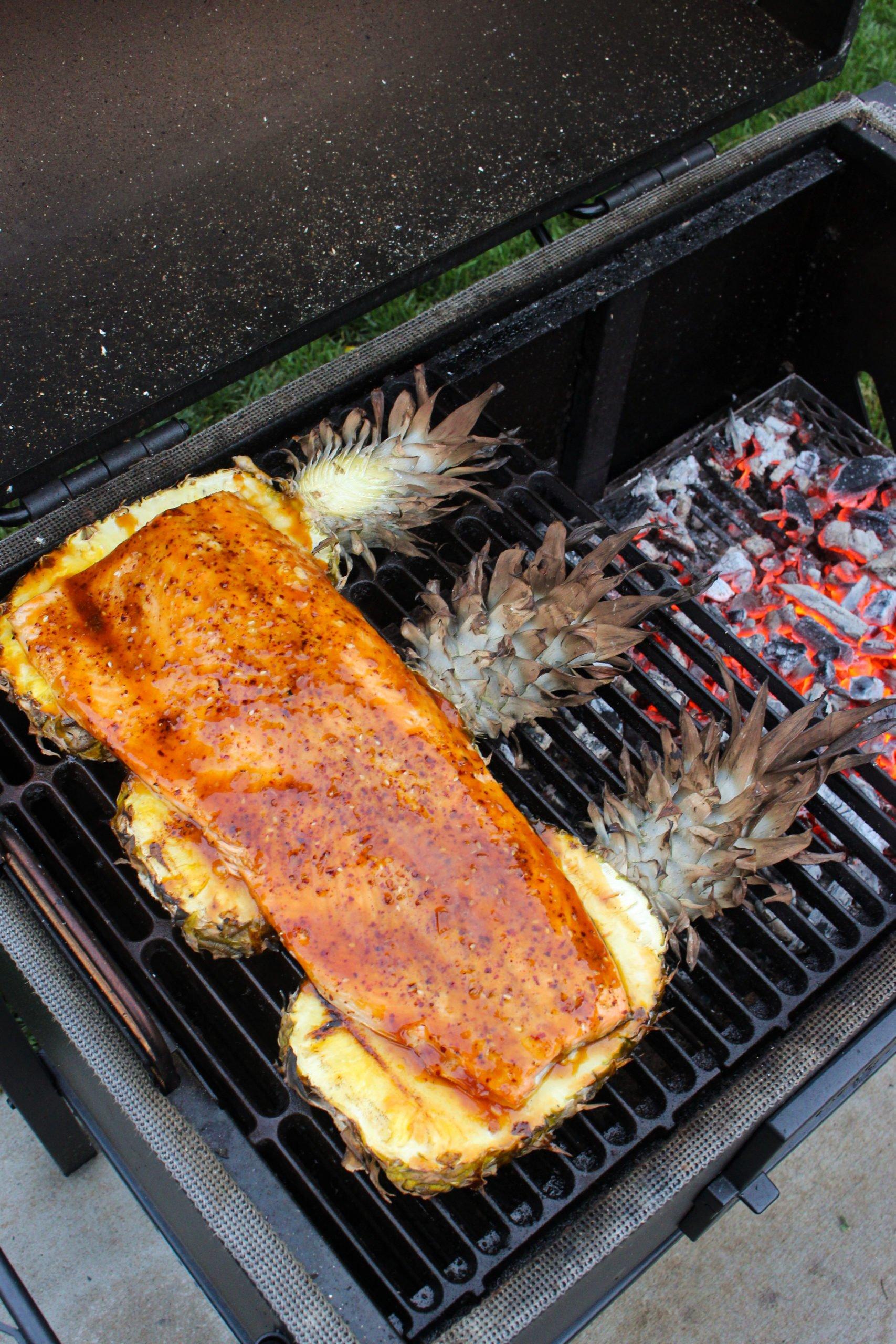 Sweet Pineapple Teriyaki Salmon