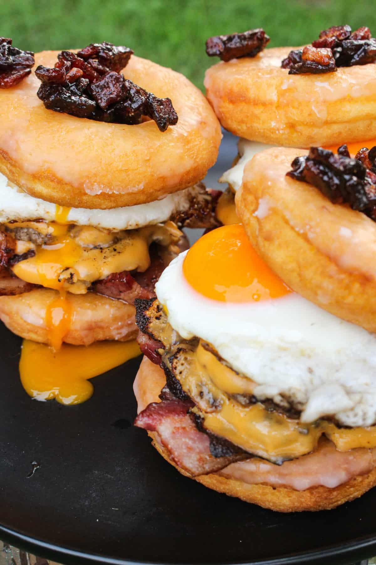 Donut Breakfast Sandwich