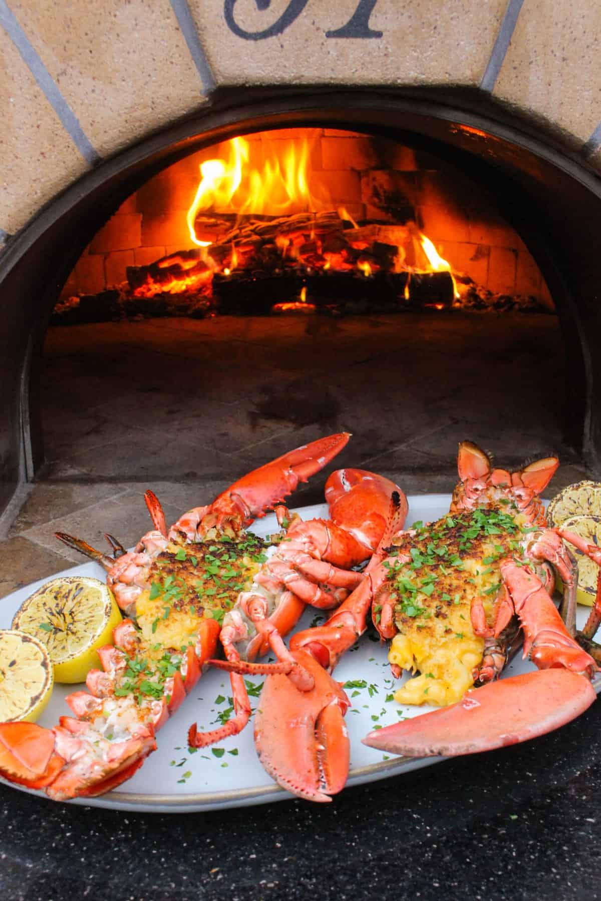 Stuffed Cajun Lobster Mac