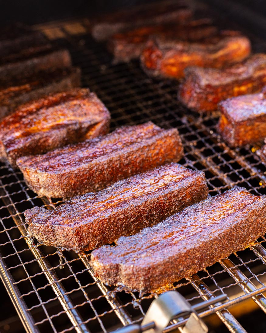 Teriyaki Pork Belly Burnt Ends