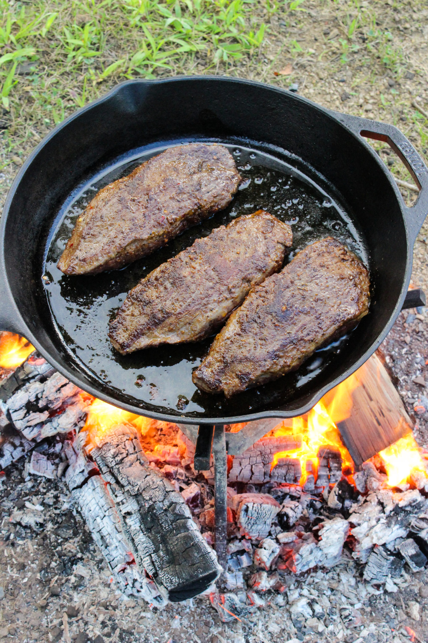 Bourbon Prime Steak and Eggs