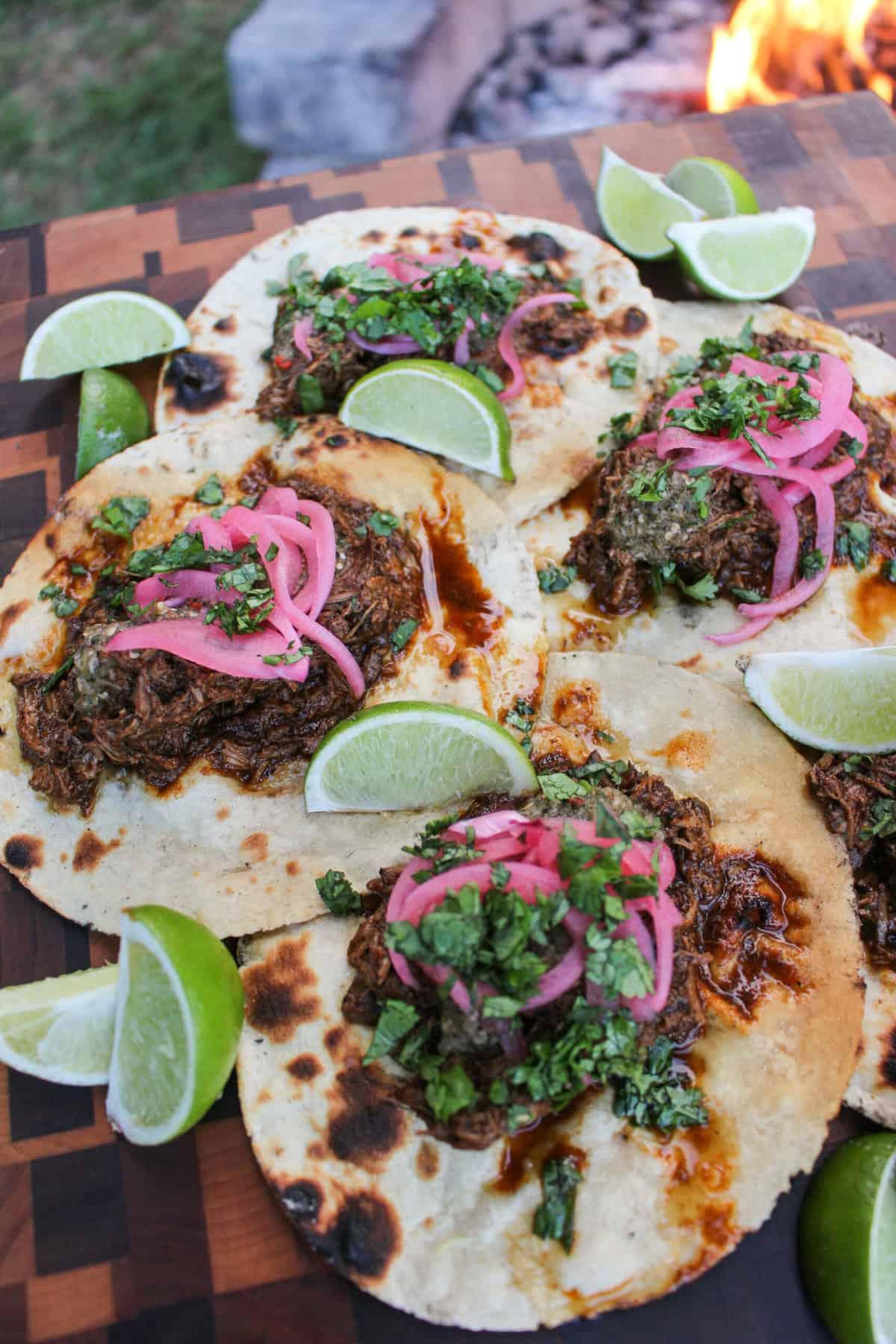 Barbacoa Lamb Tacos
