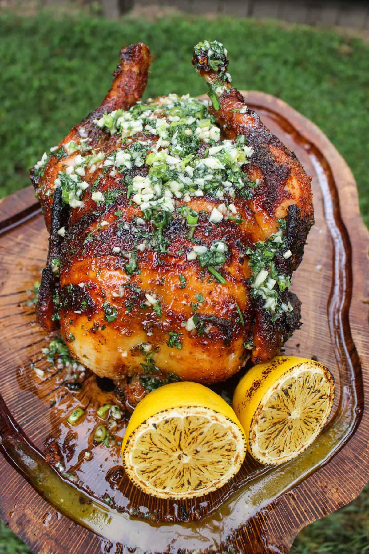 Lemon Chili Rye Rotisserie Chicken