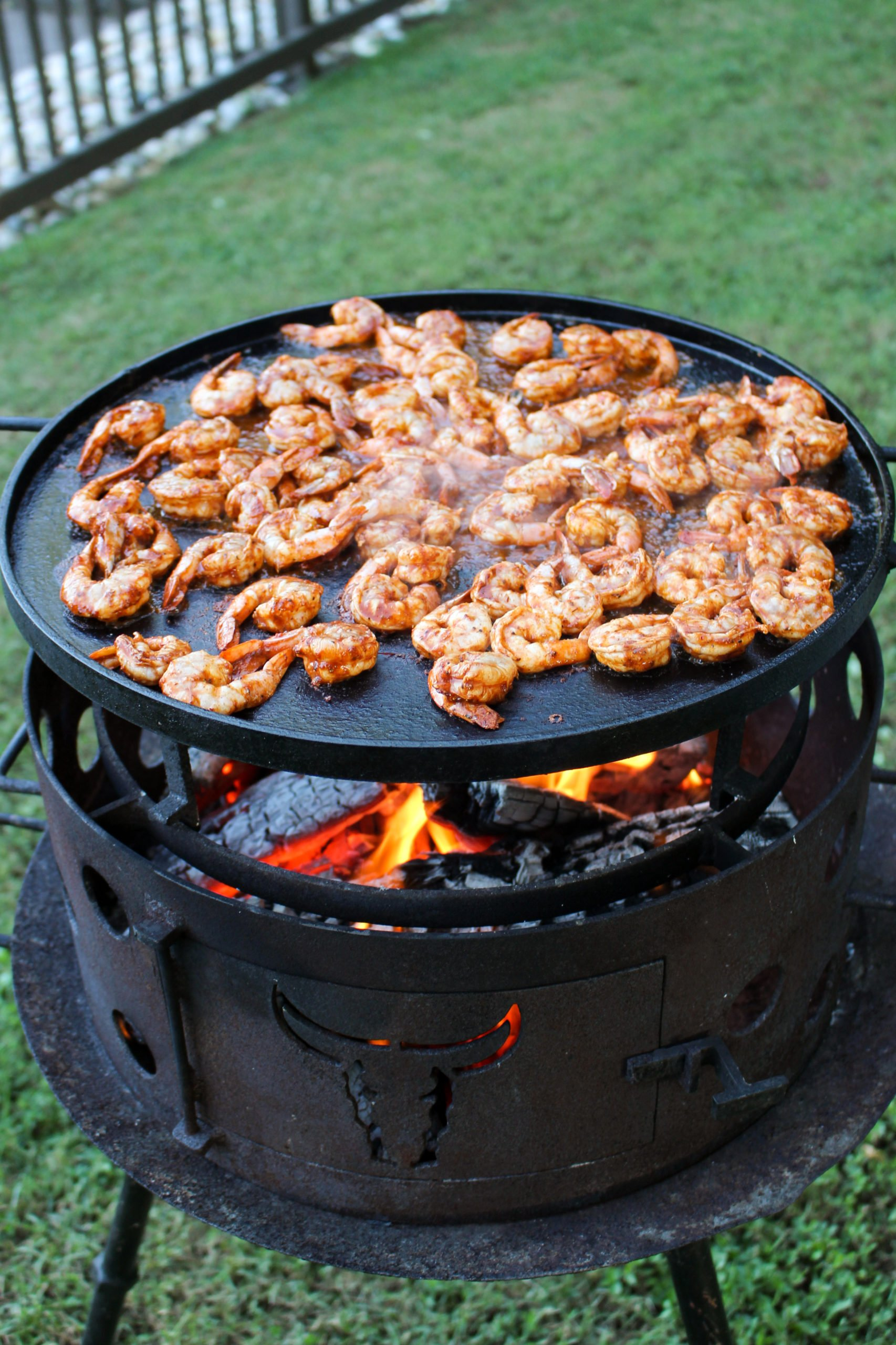 spicy mexican street shrimp