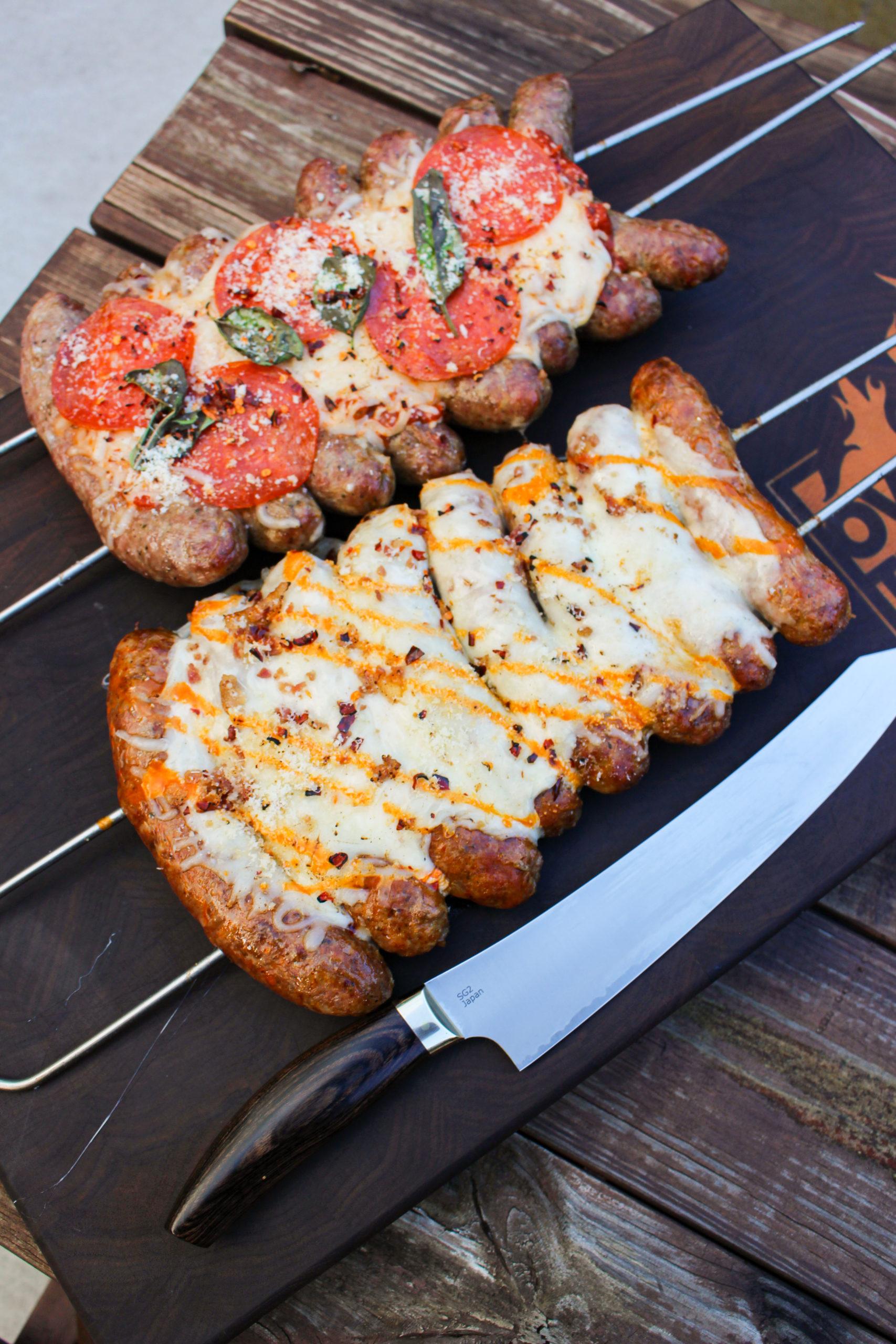 Pizza Sausage Skewers